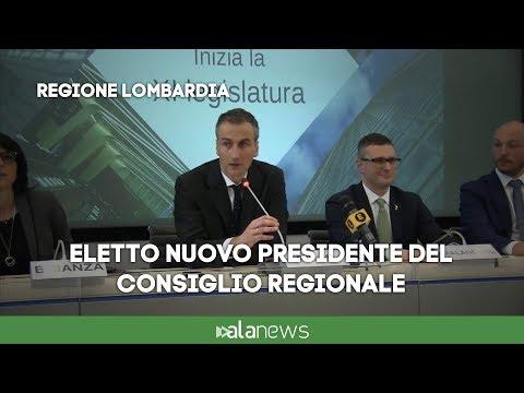 Regione Lombardia, Alessandro Fermi è il nuovo Presidente del Consiglio