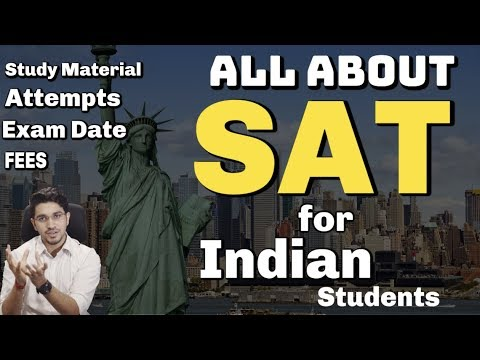 SAT Exam India | Syllabus + Study Material + Exam Date + Practice tests + Registration