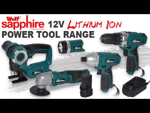 Wolf Sapphire 12v Lithium Ion Power Tool Range