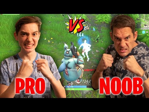 KID AGAINST DAD IN FORTNITE PLAYGROUNDS! *Loser is a NOOB for life!*