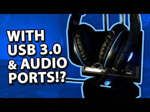 ULTIMATE Gaming Headphones Stand! 🎧  // SADES Anubis' Staff (W10) Review