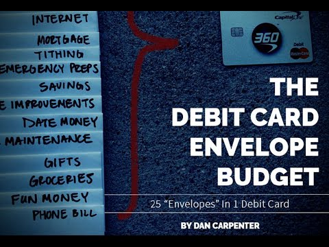 "Dave Ramsey's ""Envelope System"" - How To Digitally Recreate It"