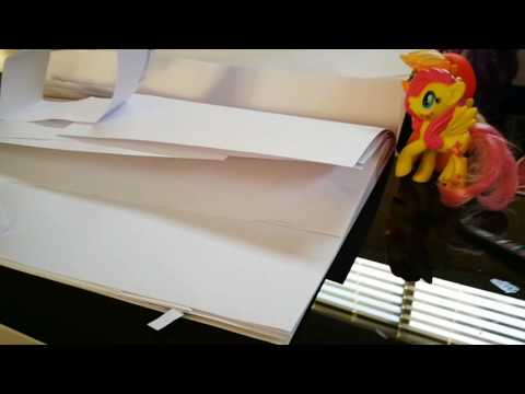 How to make streetlight with paper
