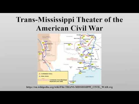 Trans-Mississippi Theater of the American Civil War