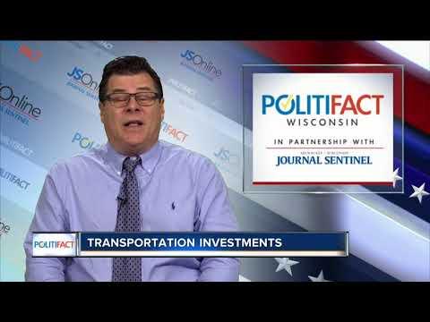PolitiFact Wisconsin: Walker on transportation investments