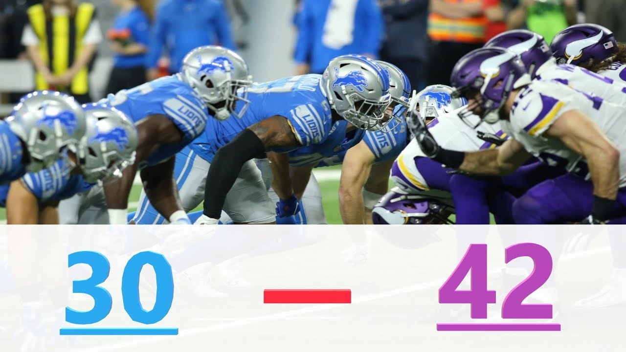 3 takeaways from Detroit Lions loss to Minnesota Vikings