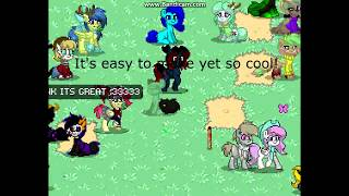How To Make A Small Fluffy Cat On Pony Town My First Vid 0