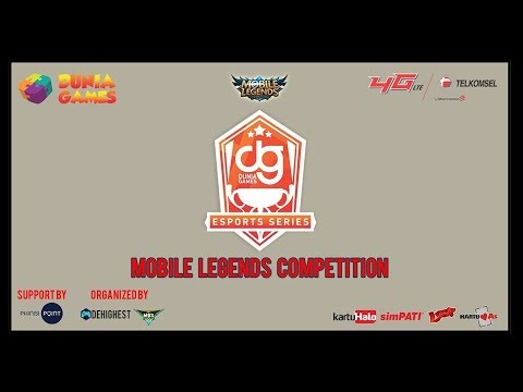 Dunia Games eSports Series Makassar - Mobile Legends Competition Day 3