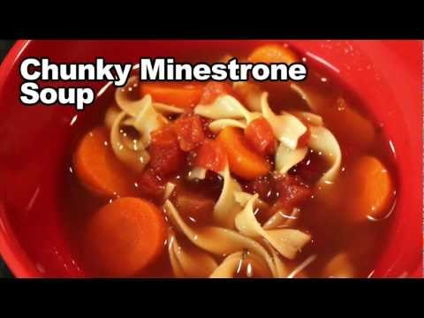 Minestrone Soup Recipe For Slow Cookers - Best Soup Recipes For Truck Drivers