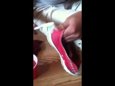 How to clean your converse