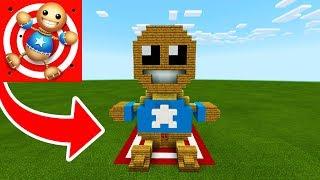 "Minecraft: How To Make a Kick The Buddy House In Minecraft ""Kick The Buddy"""