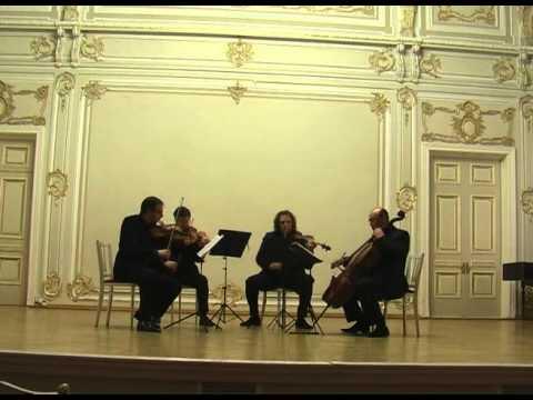 Bela Bartok. String Quartet No.6. I. Mesto - Vivace