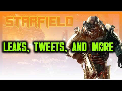 STARFIELD LEAKS, BETHESDA'S TWEET, FALLOUT SPIN-OFF (BETHESDA E3 SPECULATION)