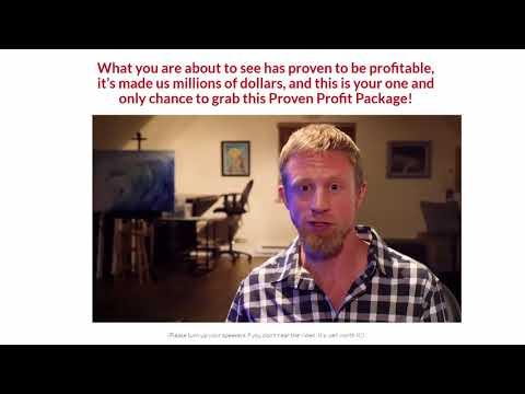 """Proven Profit Package"" + $101 Prize Contest"