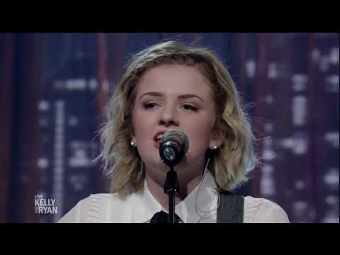 Going Going Gone - Maddie Poppe performs her latest single on LIVE with Kelly and Ryan