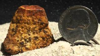 Ancient Meteorite Collection Smaller Pieces and Fragments of Meteorites