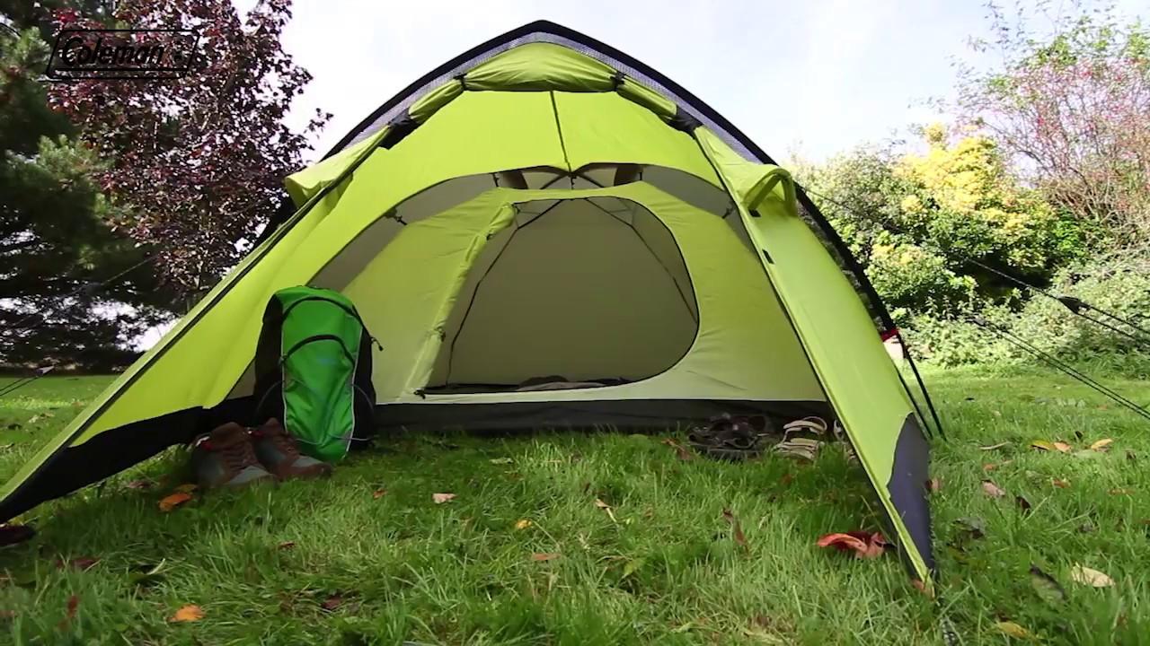 Coleman® Monviso 3 Trekking Tent - Lightweight u0026 easy to set up 3 man tent & Coleman® Monviso 3 Trekking Tent - Lightweight u0026 easy to set up 3 ...