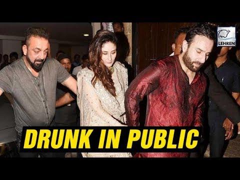 Bollywood Actors Caught DRUNK In Public | Kareena Kapoor, Sanjay Dutt | LehrenTV