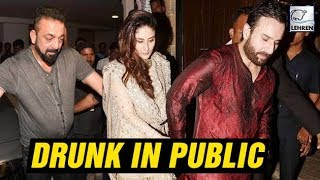 Bollywood Actors Caught DRUNK In Public | Kareena Kapoor, Sanjay Dutt | LehrenTV