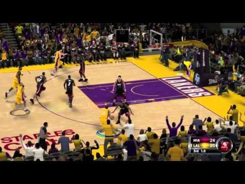 NBA 2K12 Gameplay: Miami Heat Vs. LA Lakers (Xbox 360/PS3/Wii/PC)