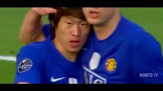 ji sung park ● goals assists ● for manchester united