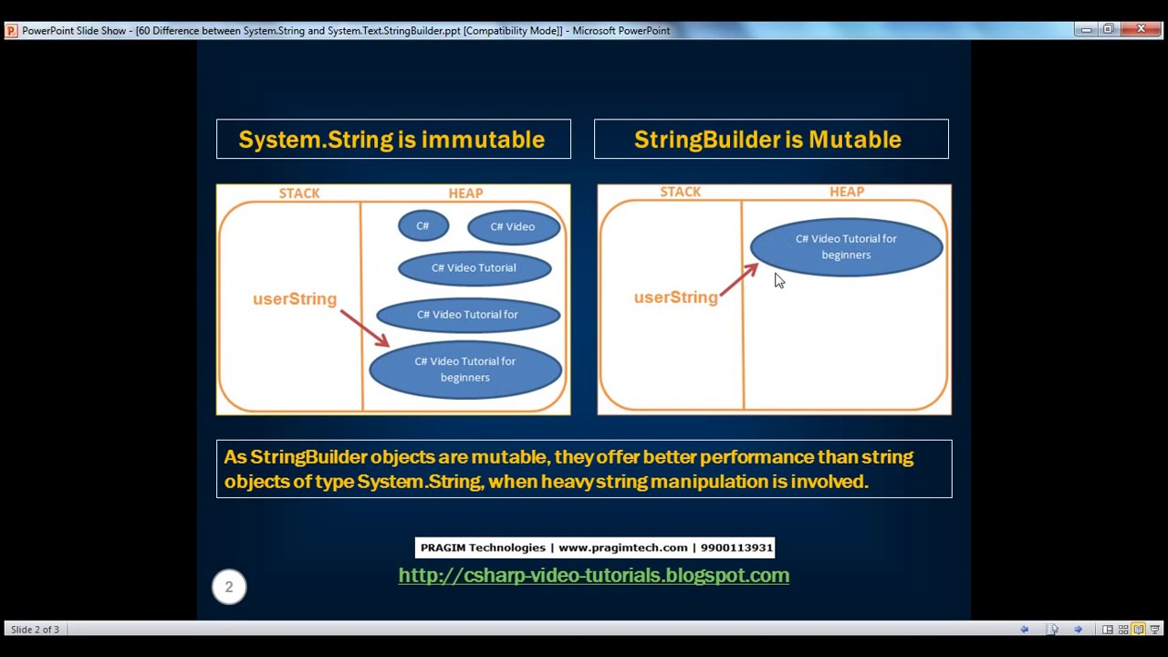Asp string and string builder youtube asp string and string builder baditri Choice Image