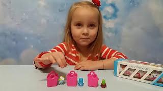 Шопкинс корзинки сюрпризы с игрушками и Калейдоскоп распаковка Shopkins surprises with toys