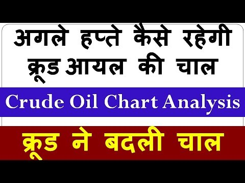 Crude Oil Chart Analysis !! अगले हप्ते कैसे रहेगी क्रूड आयल की चाल !! क्रूड ने बदली चाल