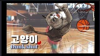 [까까캔디] 덩크슛 고양이  -캔디의 무한 에너자이저-
