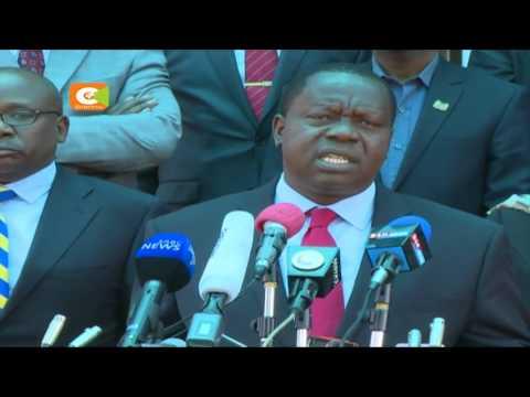 Matiang'i apongeza IEBC, Wakenya kwa kuendesha uchaguzi wa amani