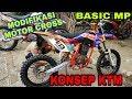 Modifikasi Motor Cross,Basic MEGA PRO Frame KTM 85