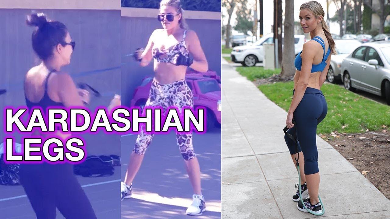649f80b31e Kourtney Kardashian Skinny Legs Workout Review. Jessica Carroll