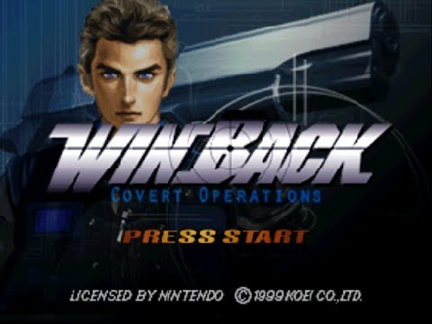 N64 Operation Winback Covert Operations Ground