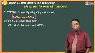 Bài giảng hóa 11 - Hóa hữu cơ - Bài 12. Bài tập tổng kết chương hóa hữu cơ