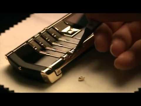Quá trình sản xuất điện thoại vertu - www.daydongho.com