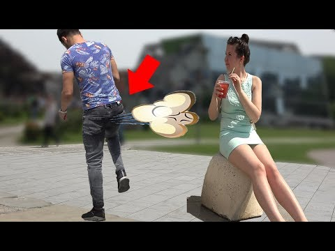 Farting in Public PRANK 💃💨 - Best of Just For Laughs - AWESOME REACTIONS