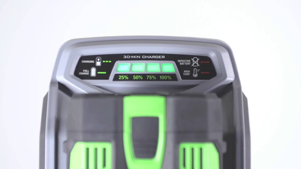 EGO Mower 30 Minute Battery Charger