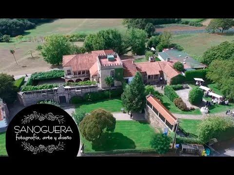 Pazo Vilar de Ferreiros. Video DRON Fotógrafo Bodas Galicia