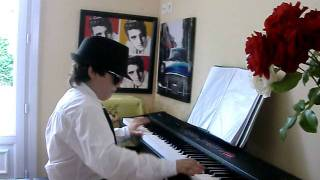 BOOGIE WOOGIE in G Raffi the blues kid 9 years piano cover