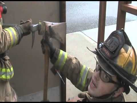 Forcible Entry Conventional Inward Swinging Door Youtube
