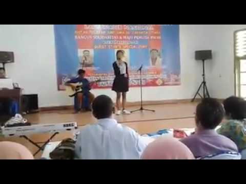Lomba Menyanyi Solo Lagu Perjuangan Nasional Antar Pelajar SMP- SMA Jakarta Utara