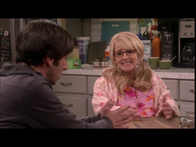 The Big Bang Theory S11E24 - Bernadette & Howard fighting over babys name - Part 2