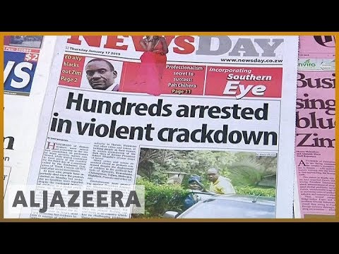 🇿🇼 Zimbabwe accused of violent crackdown on protests l Al Jazeera English