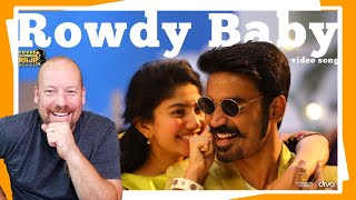 Rowdy Baby Song REACTION by American | Maari 2
