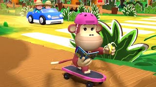 Fisher Price Little People ⭐Skateboarding Monkey ⭐New Season! ⭐Full Episodes HD ⭐Cartoons for Kids