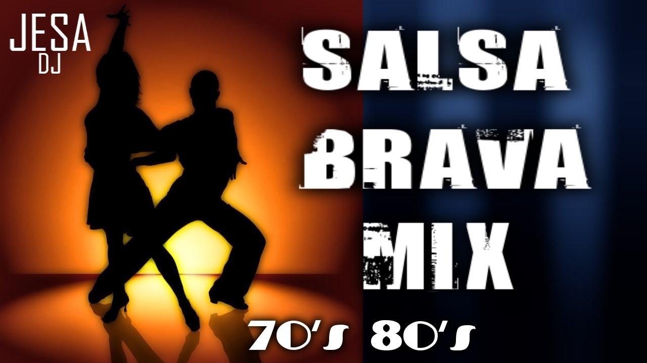 Salsa Brava Mix 70 Y 80 Dimension Latina Ismael Rivera Ruben Blades Youtube