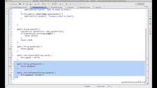 Struts 2 Tutorial 15 - Using Model Objects