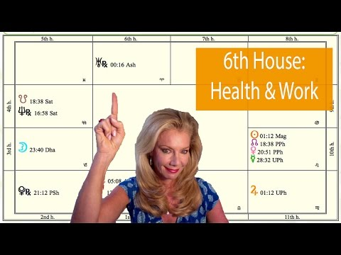 6th House: Health and Work