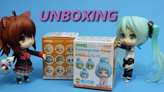 Nendoroid More Exchangeable Faces Blind Box Unboxing