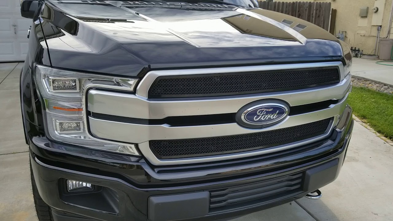 2018 Ford F150 Grill Inserts